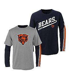 adidas® NFL® Chicago Bears Boys' 2T-4T Squad 2-For-1 Tee