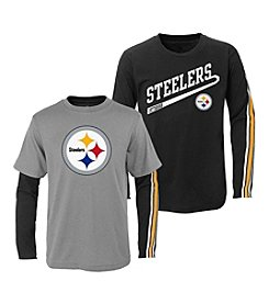 adidas® NFL® Pittsburgh Steelers Squad 2-For-1 Tee