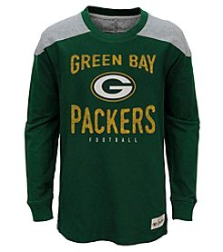 adidas® NFL® Green Bay Packers Boys' 8-20 Legend Long Sleeve Tee