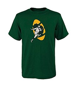 adidas® NFL® Green Bay Packers Boys' 8-20 Primary Vintage Short Sleeve Tee