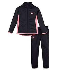 Under Armour® Girls' 2T-6X 2-Piece Super Fan Track Set