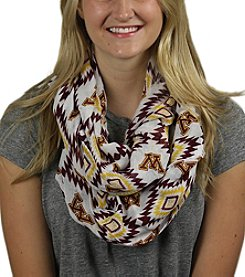 ZooZatZ™ NCAA® Minnesota Golden Gophers Women's Southwest Infinity Scarf