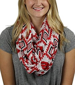 ZooZatZ™ NCAA® Wisconsin Badgers Women's Southwest Infinity Scarf