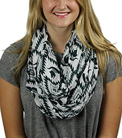 ZooZatZ™ NCAA® Michigan State Spartans Women's Southwest Infinity Scarf