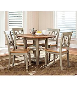 Liberty Furniture Alfresco Drop-Leaf Taupe Dining Collection