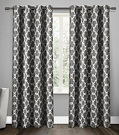 Exclusive Home Gates Blackout Thermal Grommet Window Curtains