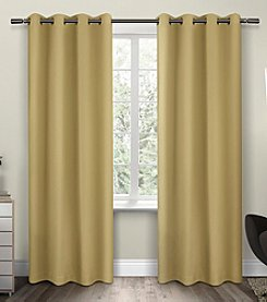 Exclusive Home Sateen Twill Weave Insulated Blackout Grommet Window Curtains