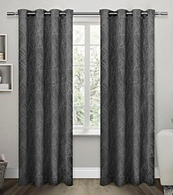 Exclusive Home Twig Insulated Blackout Grommet Window Curtains