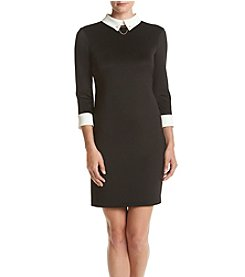 Ivanka Trump® Collared Shirt Dress