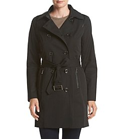 MICHAEL Michael Kors® Double Breasted Belted Trench Coat