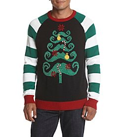 RETROFIT® Men's Mustache Tree Sweater