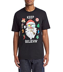 Seven Oaks Men's Keep Believin' Light Up Tee