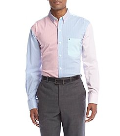 Izod Men's® Button Down Multi Poplin Shirt