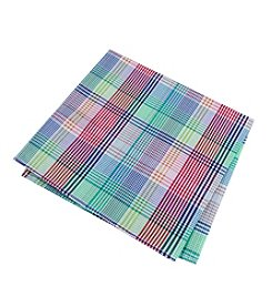 Tommy Hilfiger® Multi Plaid Pocket Square
