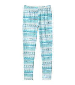 Miss Attitude Girls' 7-16 Starfish Striped Leggings