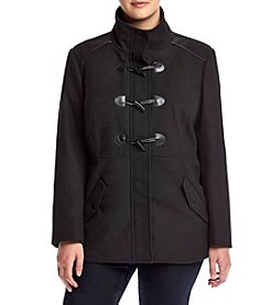 Rampage® Plus Size Maddy Toggle Coat