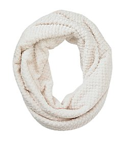 Cejon® Textured Soft Touch Large Infinity Scarf