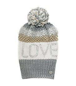 Betsey Johnson® Love Pom Beanie