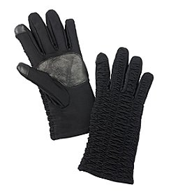 Echo Touch Ruched Gloves