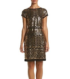 Eliza J® Sequin Shirt Dress