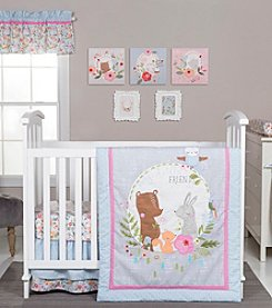 Trend Lab My Little Friends 6-pc. Crib Bedding Set