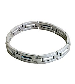 Steel Impressions Stainless Steel Bar Bracelet