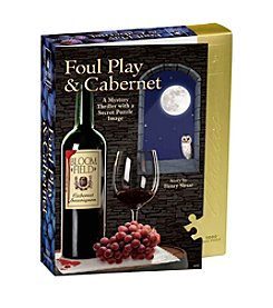 BePuzzled® Foul Play and Cabernet Murder Mystery 1000-pc. Jigsaw Puzzle