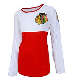 College Concepts NHL® Chicago Blackhawks Women's Vortex Tee