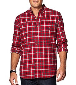 Chaps® Men's Long Sleeve Button Down Plaid Flannel Shirt