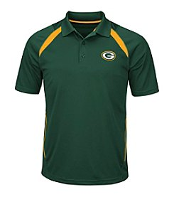 Majestic NFL® Green Bay Packers Men's Winners Never Quit Short Sleeve Polo
