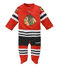 adidas® NHL® Chicago Blackhawks Baby Long Sleeve Coverall