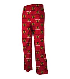 adidas® NHL® Chicago Blackhawks Boys' 4-7 Team PJ Pants