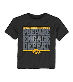 adidas® NCAA® Iowa Hawkeyes Baby Preparation Short Sleeve Tee