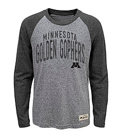 adidas® NCAA® Minnesota Golden Gophers Boys' 4-20 Legacy Pedigree Long Sleeve Tee