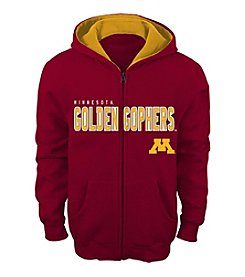 adidas® NCAA® Minnesota Golden Gophers Boys' 4-7 Stated Full Zip Hoodie