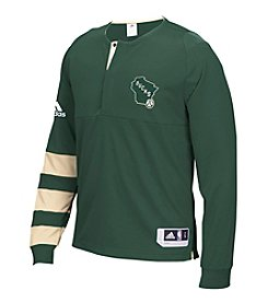 adidas® NBA® Milwaukee Bucks Men's Shooter Long Sleeve Tee