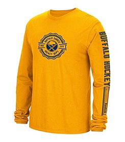 Reebok® NHL® Buffalo Sabres Men's Icon Long Sleeve Tee