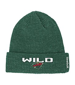 Reebok® NHL® Minnesota Wild Center Ice Locker Room Cuffed Hat