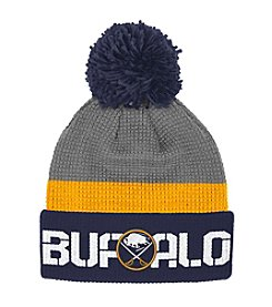 Reebok® NHL® Buffalo Sabres Center Ice Cuffed Pom Hat