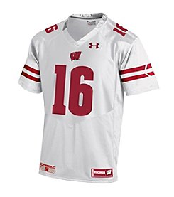 Under Armour® NCAA® Wisconsin Badgers Boys' 8-20 #16 Replica Jersey