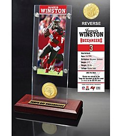 NFL® Tampa Bay Buccaneers Jameis Winston Ticket & Bronze Coin Ticket Acrylic by The Highland Mint
