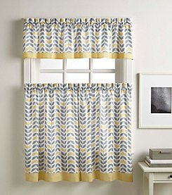 Peri Home® Sheraton Tier and Valance