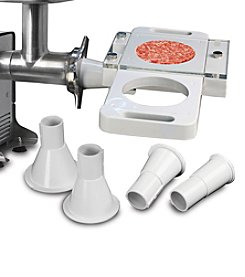 Excalibur Electric Professional Meat Grinder Burger Press Attachment