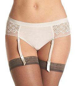 DKNY® Sheer Lace Garter Co-Panty