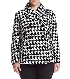 Rampage® Plus Size Carrie Peacoat