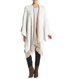Cejon® Brushed Reverse Knit Wrap