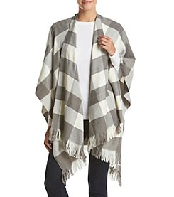Basha Buffalo Plaid Wrap