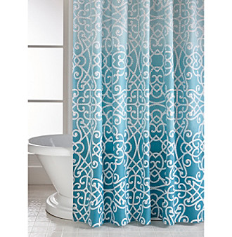 style lounge shower curtain. Style Lounge Chesterfield Shower Curtain Bath Collection  Bon Ton