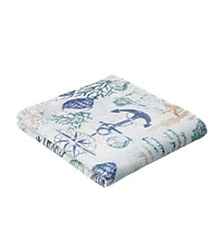 CHF Anchor Bay Printed Seaside Bath Towel
