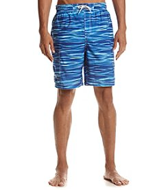 Paradise Collection® Men's Water Camo Swim Trunks